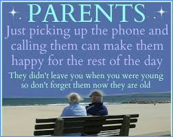 Image result for love your parents and treat them with loving care