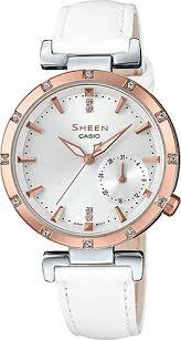 Наручные <b>часы Casio</b> Sheen <b>SHE</b>-<b>4051PGL</b>-<b>7A</b> — купить в ...
