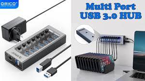 <b>ORICO Industrial USB 3.0</b> Multi HUB | Power Adapter Docking ...