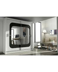 Sliding Door Bedroom Furniture 2 Door Sliding Wardrobe With Mirror Natashainanutshellcom