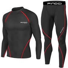 <b>Men's</b> Sports Apparel <b>Compression</b> Shirts & Pants Set Made Using ...
