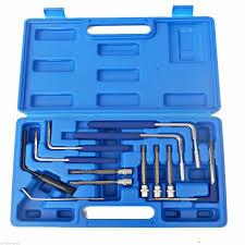 uk stock new <b>diesel injector puller</b> extractor <b>set</b> 9 pc audi bmw vw merc