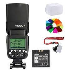 Godox V860II 2.4G HSS 1/8000 TTL Camera Flash Speedlite for ...