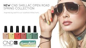NEW <b>CND SHELLAC OPEN ROAD</b> COLLECTION