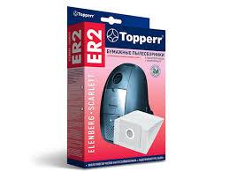 <b>Пылесборники бумажные Topperr</b> ER 2 5шт 1 микрофильтр для ...