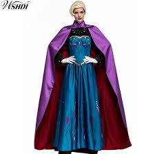 Fairy Tale Cosplay Frozene Anna <b>Princess</b> Costumes Women <b>Adult</b> ...