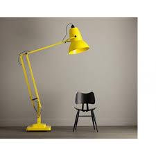 anglepoise giant 1227 floor lamp in citrus yellow anglepoise lighting