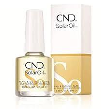 CND Essentials Nail & Cuticle Oil, Solaroil, 0.25 Fl Oz ... - Amazon.com