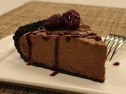 Resultado de imagen para No Bake Chocolate Icebox Pie