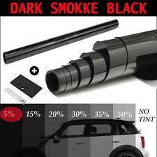 PRO QUALITY ULTRA LIMO BLACK <b>1</b>% <b>CAR</b> WINDOW TINT <b>ROLL</b> ...