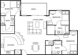floor plans:  bed  bath penthouse more details print floor plan