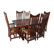 delivery dorset natural real oak dining set: chunky ft solid oak dining table cream leather scroll chairs delivery natural