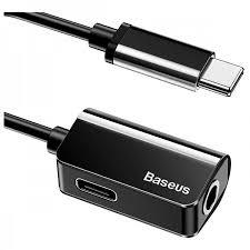 Переходник <b>Baseus L40 Type</b>-<b>C</b> (M) to <b>Type</b>-<b>C</b> (F)/3.5 mm купить в ...