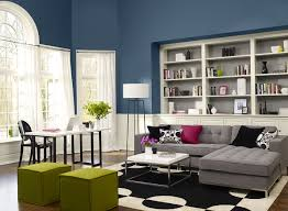 Ideal Color For Living Room Blue Furniture Denim Blue And Grey Living Room Living Room