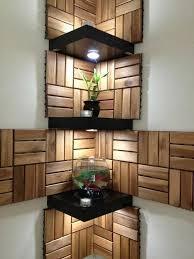 Декорируем стену деревом | Декоративные <b>полки</b>, Домашний ...