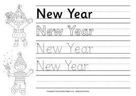 Resultado de imagen de new year worksheet