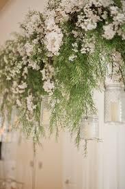 flowers wedding decor bridal musings blog: ceiling garland chic and classic wedding day vicki bartel photography bridal musings wedding