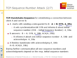 tele task podcast tcp sequence number attack weaknesses in common operating systems targets in the and viruses the lecture course concludes a discussion about the possibilities to