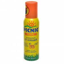 <b>Средство акарицидное PICNIC Family</b> от клещей Super ...