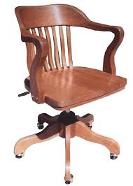 that i picked up at an antique store in forney years ago when i was going through i phase where id buy any old wood office chair with vertical slat back i antique wood office chair