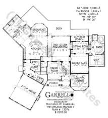 Leyland Manor II House Plan   House Plans by Garrell Associates  Inc leyland manor II house plan   st floor plan