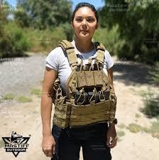 1000D Nylon <b>Tactical</b> Vest Molle Airsoft Vest Paintball <b>Combat</b> Soft ...