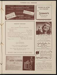 Program from Dizzy Gillespie's concert with Ella Fitzgerald and ...