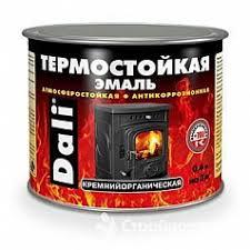 <b>Эмаль термостойкая DALI</b> Серебро 0,4л