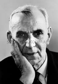 Alfred Kastler, French-German physicist. H411/0231 Rights Managed. View low-res. 530 pixels on longest edge, watermarked. Request/Download high-re