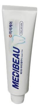 <b>Зубная паста отбеливающая</b> Medibeau Toothpaste <b>White</b> Clinic ...