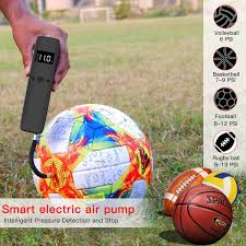 Suntapower <b>Smart Electric Air Pump</b> Automatic Mini Ball Pump with ...