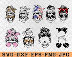 <b>Skull</b> with <b>glasses</b>   Etsy