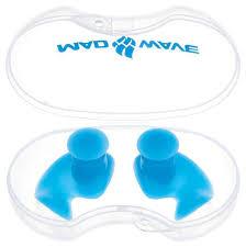 Купить <b>беруши</b> силиконовые <b>Mad Wave</b> Ergo <b>Ear</b> Plug Azure ...