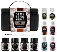 <b>SEXY BROW HENNA</b> Профессиональный <b>набор</b> для создания ...