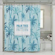 Синий тропический душ шторы - огромный выбор по лучшим ...