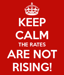 Image result for rates not rising