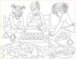 Small Picture Nicoles Free Coloring Pages Christmas cookies Prajituri de
