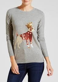 Papaya <b>Sequined Dog Christmas</b> Jumper | <b>Christmas</b> jumpers ...