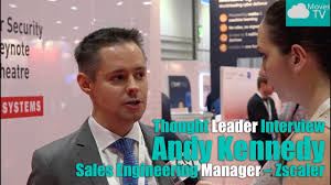 thought leader interview andy kennedy senior s engineering thought leader interview andy kennedy senior s engineering manager zscaler ip expo