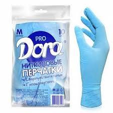 """<b>Перчатки нитриловые</b> """"<b>Dora Pro</b>"""", универсальные ..."""