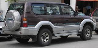 Toyota Land Cruiser Prado Filetoyota Land Cruiser Prado Second Generation Rear Serdang