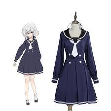 <b>ZOMBIE LAND SAGA</b> Konno Junko Uniform Dress <b>Cosplay Costume</b>