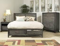 bedroom set main: cove beach platform storage bed drift wood
