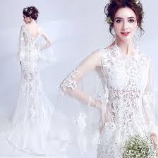 Illusion <b>Summer Beach White</b> See-through <b>Wedding</b> Dresses 2018 ...