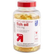 100% <b>Wild Alaskan Fish Oil</b> Dietary Supplement Softgels - 100ct ...