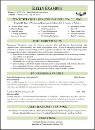Free Executive Chef Resume Example Resume Maker  Create professional resumes online for free Sample