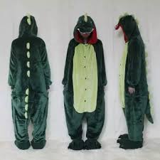 Men Dinosaur Onesie With <b>Hood</b> Adult Fit <b>Halloween Funny</b> ...