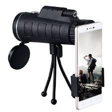 <b>40x60 Zoom HD Dual</b> Focus Monocular Telescope Phone Camera ...