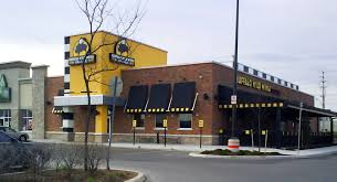 Super cold   Buffalo Wild Wings Grill  amp  Bar Print Ad Exterior painting of Buffalo Wild Wings