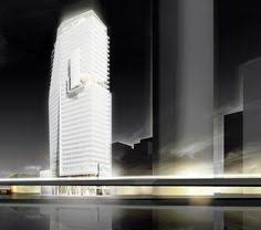 richard meier partners office tower in mexico city draws inspiration from aztec forms short direct and lively the architects newspaper is the arch2o parramatta proposal urban office architecturecamera 3